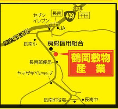 鶴岡敷物産業map