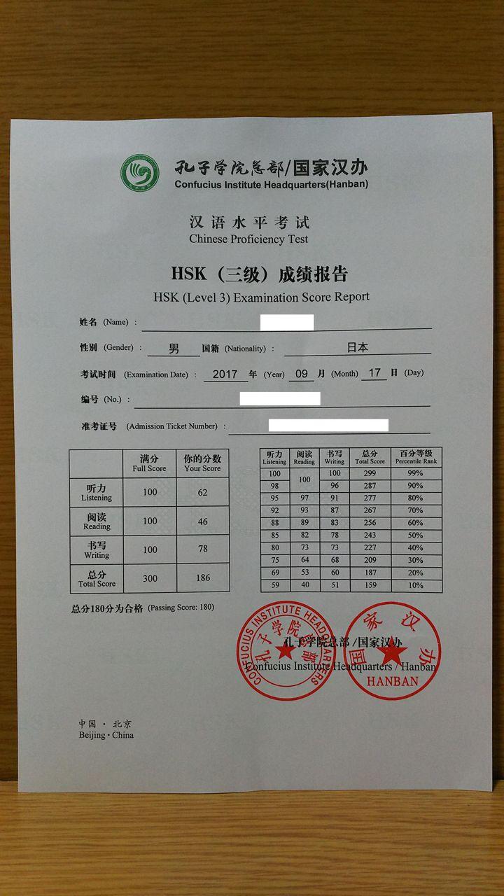 中検・HSKなど4種類の中国語検定試験の比較 ...