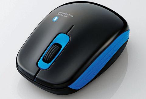 ELECOM Bluetooth3.0マウス NFCペアリング レーザー 3ボタン ブラック M-BT10BBBK/N [Personal Computers]