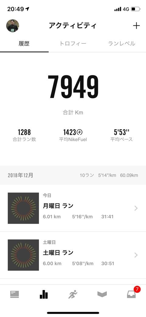 Nike Run Club December 2018