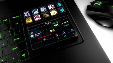 サブディスプレイにもなるSwitchblade Interface