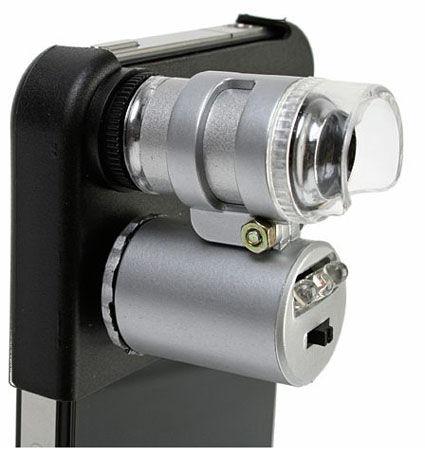 iPhone4を顕微鏡にする