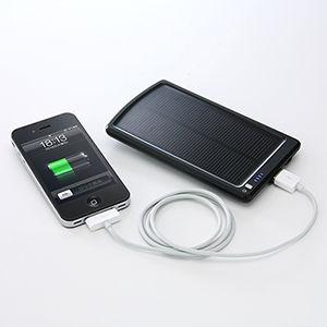 ソーラーバッテリー充電器