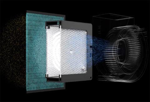 高輝度の紫外線を放つ光触媒ユニット