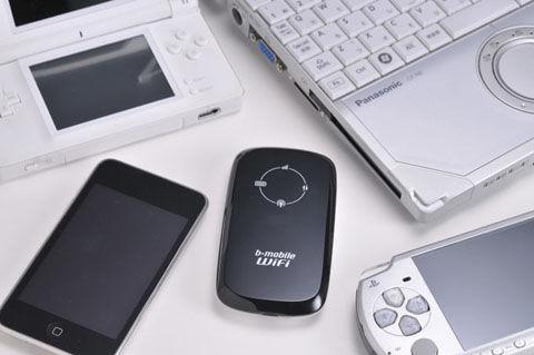 iPodとモバイルWi-Fiルーター
