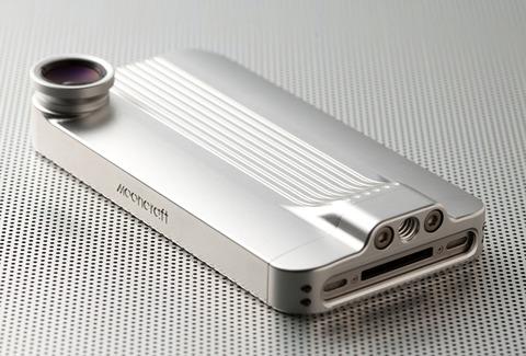 レーシングカーデザインのiPhone4S/4用メタルケース