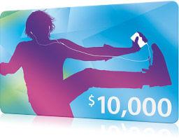 $10,000iTunes Card