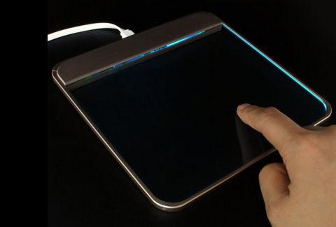 透明ガラス製 タッチパッド