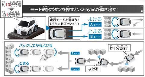 Q-eyes走行モード