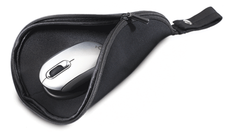 Mouse Pad Travel Pouch