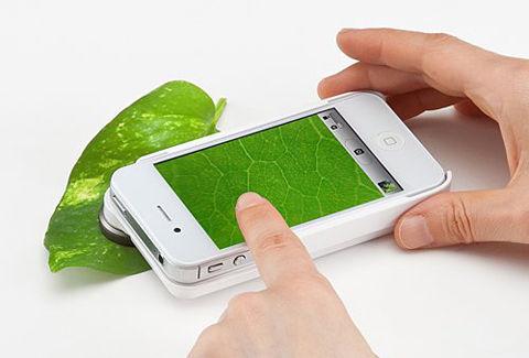iPhone4S・4マイクロスコープレンズキット