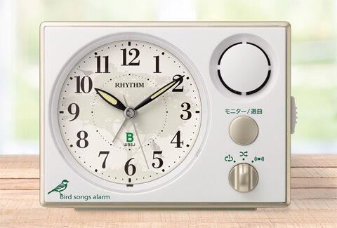 日本野鳥の会 めざまし時計401
