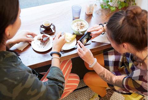 食事の際写真