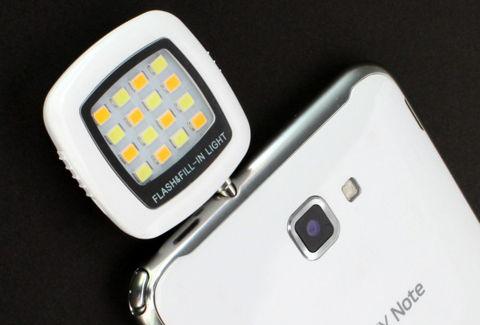 スマホカメラ撮影用 LEDライト