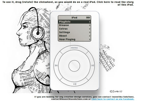 iPod - A tribute to Steve Jobs
