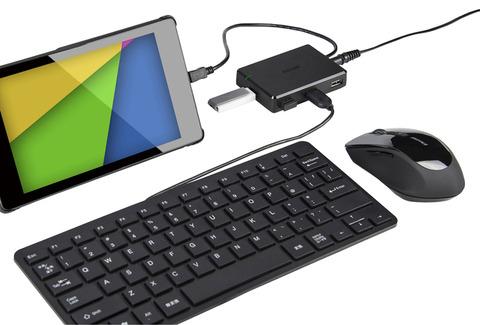 Nexus7(2013モデル)を充電しながらマウス/キー操作できる
