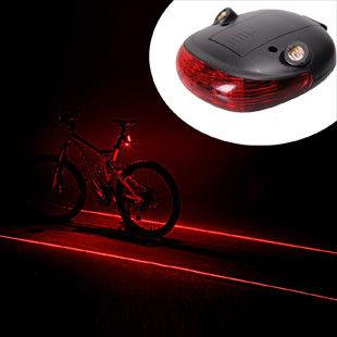自転車用LED レーザービーム テールライト