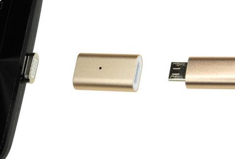 マグネット式microUSB 変換アダプタ(DN-914114)