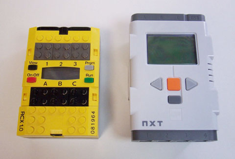 RCXとNXT
