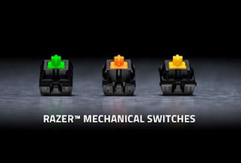 BlackWidow Chroma V2 JP Yellow Switch