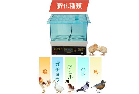 鳥類専用自動孵卵器