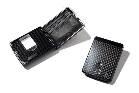 dunhill Carbon Fiber Biometric Wallet