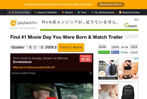 1だった映画を教えてくれるサイト