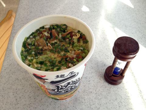 熱湯3分麺屋一燈
