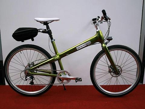 USBポート付き 電動アシスト自転車
