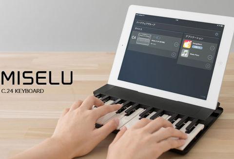 MISELU ワイヤレス音楽キーボード
