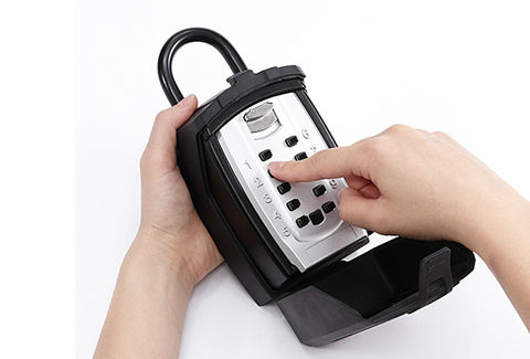 プッシュボタン式 鍵収納BOX