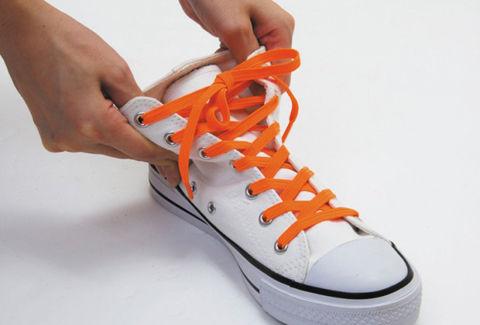 伸びる靴ひも モヒート(スニーカー)