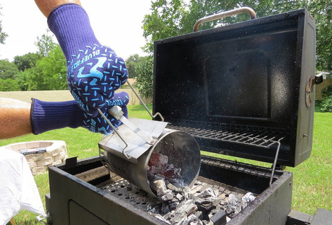 BBQの作業にBlueFire Pro