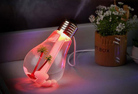 400ml USB 加湿器 7色LED