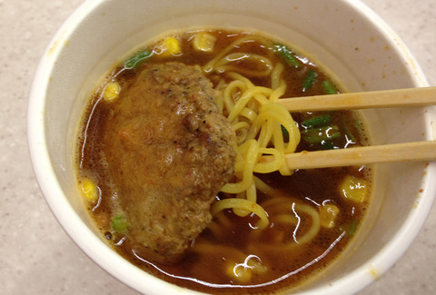 コシのある太麺