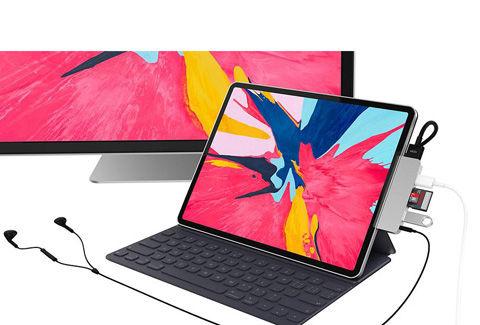 iPad Pro 2018専用 6in1 USB-C Hub