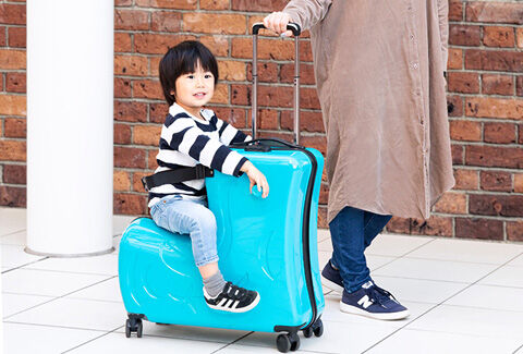 子どもが乗れるキャリーケース