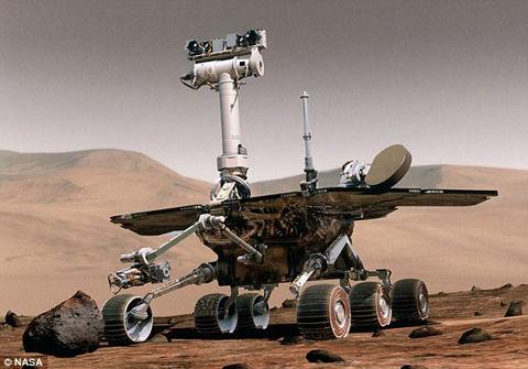 火星探査機オポチュニティ