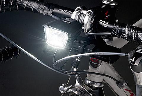自転車用LEDライト モバイルバッテリー付き