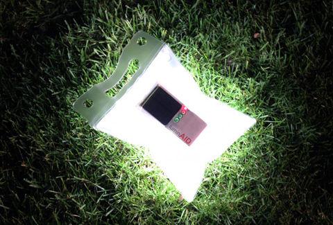 ソーラー充電式ランタン