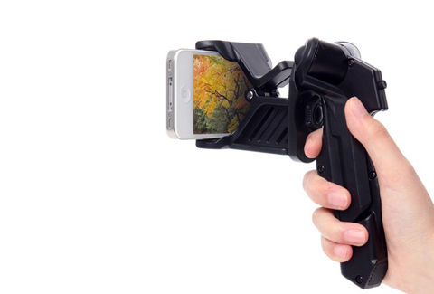 iPhoneで動画撮影するのに便利!