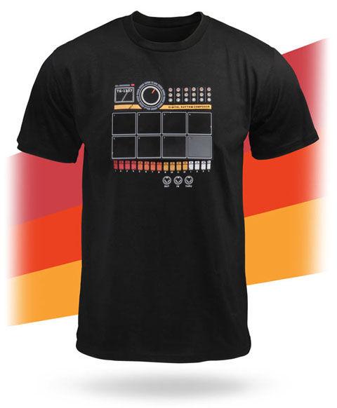 ドラムマシーンTシャツ