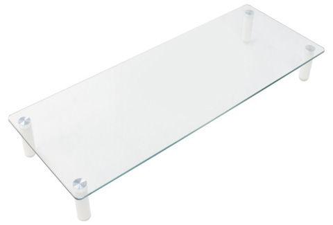キーボード収納 ノートPC・モニター用ガラス台