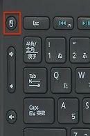 左クリックボタン