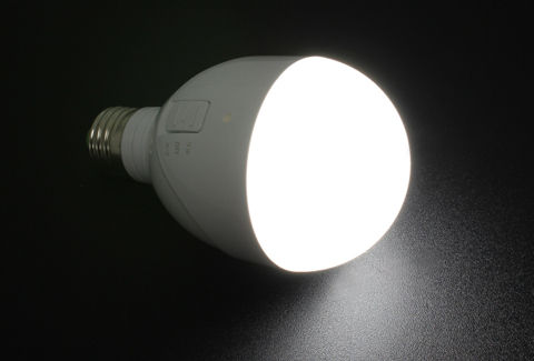 停電時に自動点灯する非常灯機能