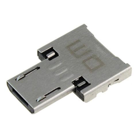 USB microUSB変換アダプタ表