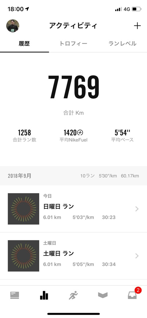 Nike Run Club September 2018