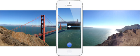 iPhoneのパノラマ写真撮影