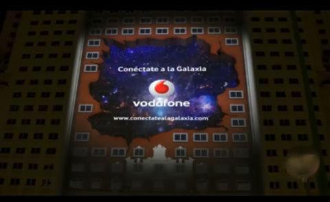 vodafone3Dプロジェクションマッピング