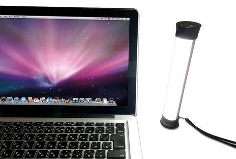 USB充電で8時間の連続点灯が可能